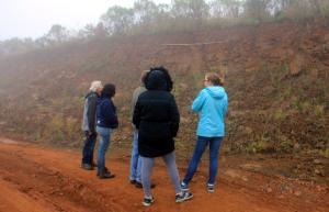 Reconhecimento de solos no município de São Miguel do Oeste.